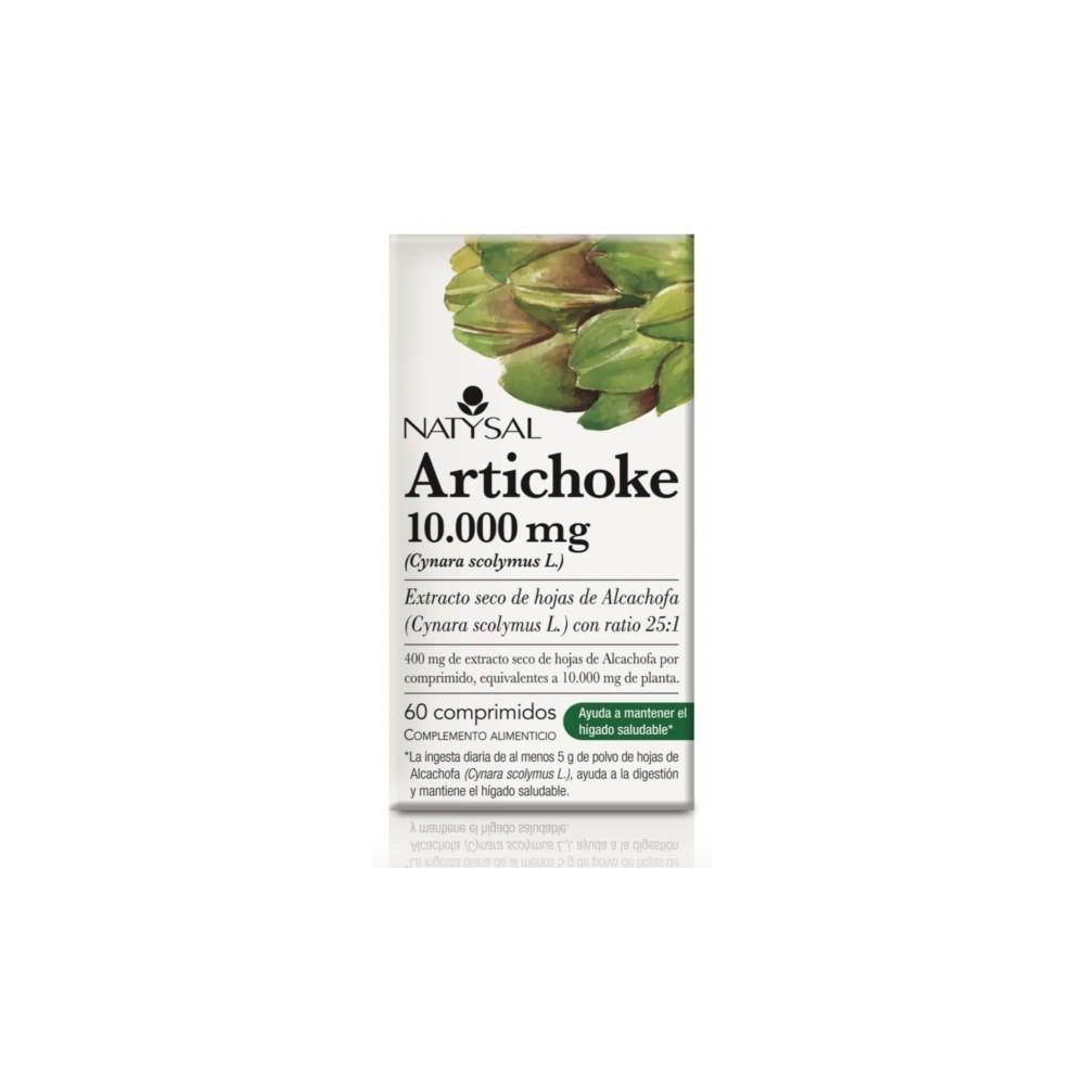Artichoke 10.000 mg  60 comprimidos Natysal