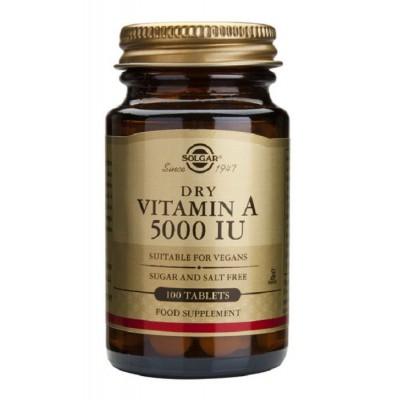 Vitamina A Seca 5000 UI Comprimidos