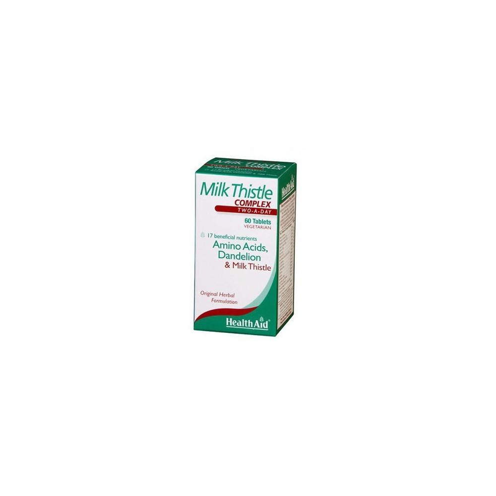Cardo Mariano Complex de Health Aid Health Aid 803035 Higado y sistema hepatobiliar salud.bio