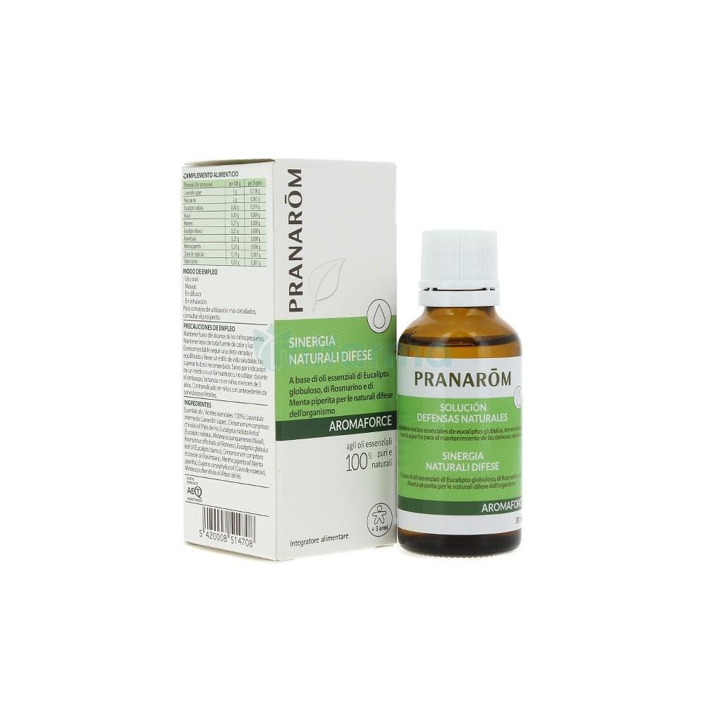 Aromaforce Solución Defensas Naturales Pranarom 30 ml. Pranarom  Acéites esenciales salud.bio
