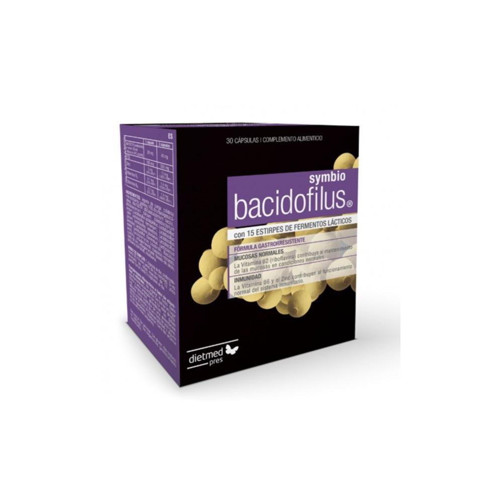Dietmed Bacidofilus Symbio Dietmed 9999000000129 Ayudas aparato Digestivo salud.bio