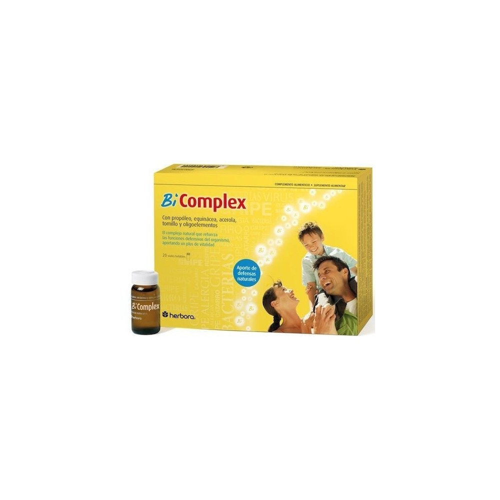 Bi-Complex , 20 viales bebibles