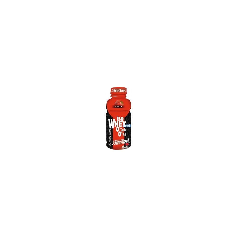 Iso Whey Drink 20g NutriSport 8424644001544 Suplementos Deportivos (Complementos Alimenticios) salud.bio