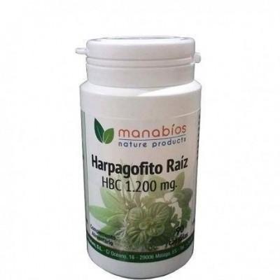 Harpagofito 1.200 mg de Manabios Manabios 111540 Suplementos Naturales acción Analgesica, Antiinflamatoria, malestar, dolor s...
