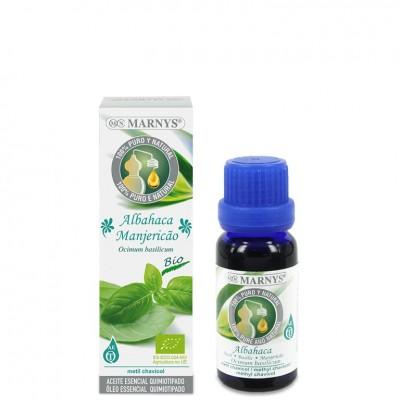 Aceite Esencial Quimiotipado de ALBAHACA DE MARNYS Marnys AA012 Aceites esenciales uso interno salud.bio