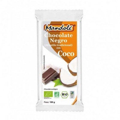 Chocolate Negro BIO (70% cacao) en tableta 100 grs