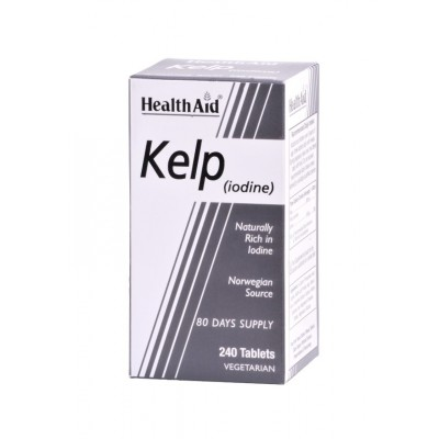 Kelp Noruego de Healh Aid Health Aid 801340 Tiroides salud.bio