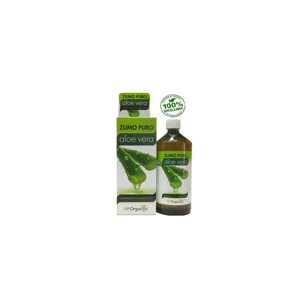 Zumo Puro de Aloe Vera 1 Litro de HFOrganics Herbofarm HBF36970 Zumos salud.bio