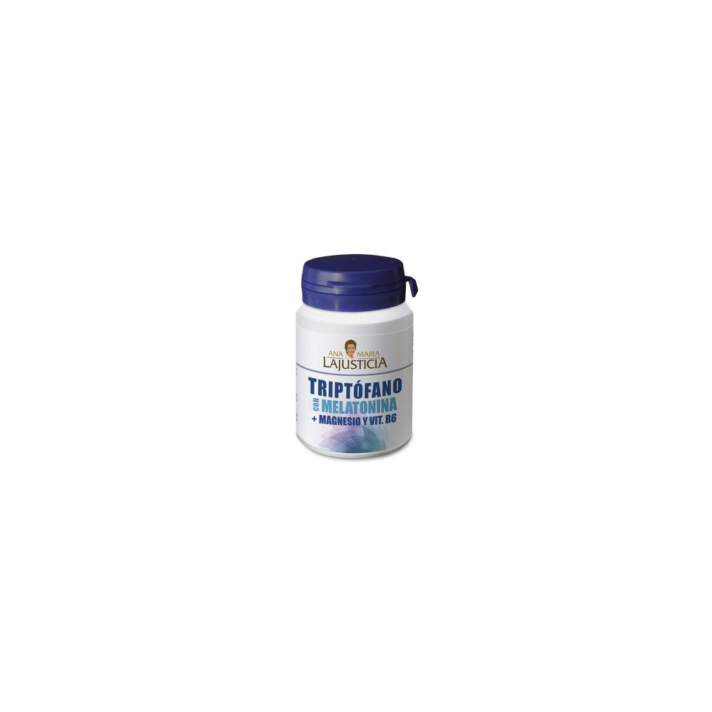 Triptófano con Melatonina + Magnesio y Vitamina B6 de Ana Maria la Justícia Ana Maria La Justicia 38167 Suplementos Minerale...