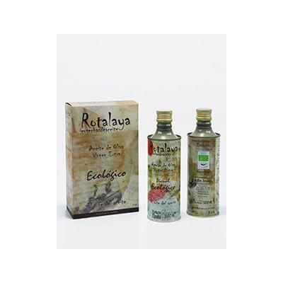 AOVE Aceite Oliva Virgen Extra BIO Lata 500ml Rotalaya Haza la Centenosa Rotaya Aceites para cocinar, condimentar o aliñar sa...