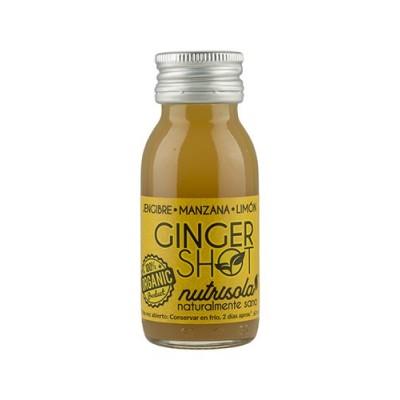 Ginger Shot diario Jenjibre, Manzana y Limón de Nutrisola