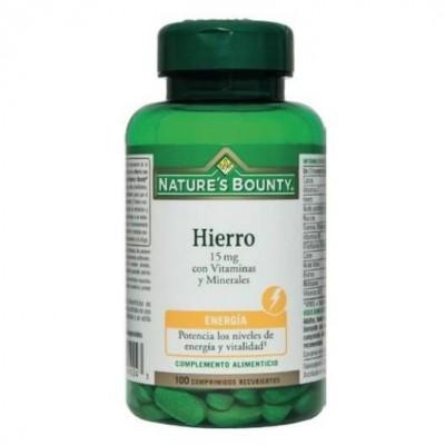 B-Hiero 15mg con Vitaminas y Minerales Nature´s Bounty Nature's Bounty 03634 Inicio salud.bio