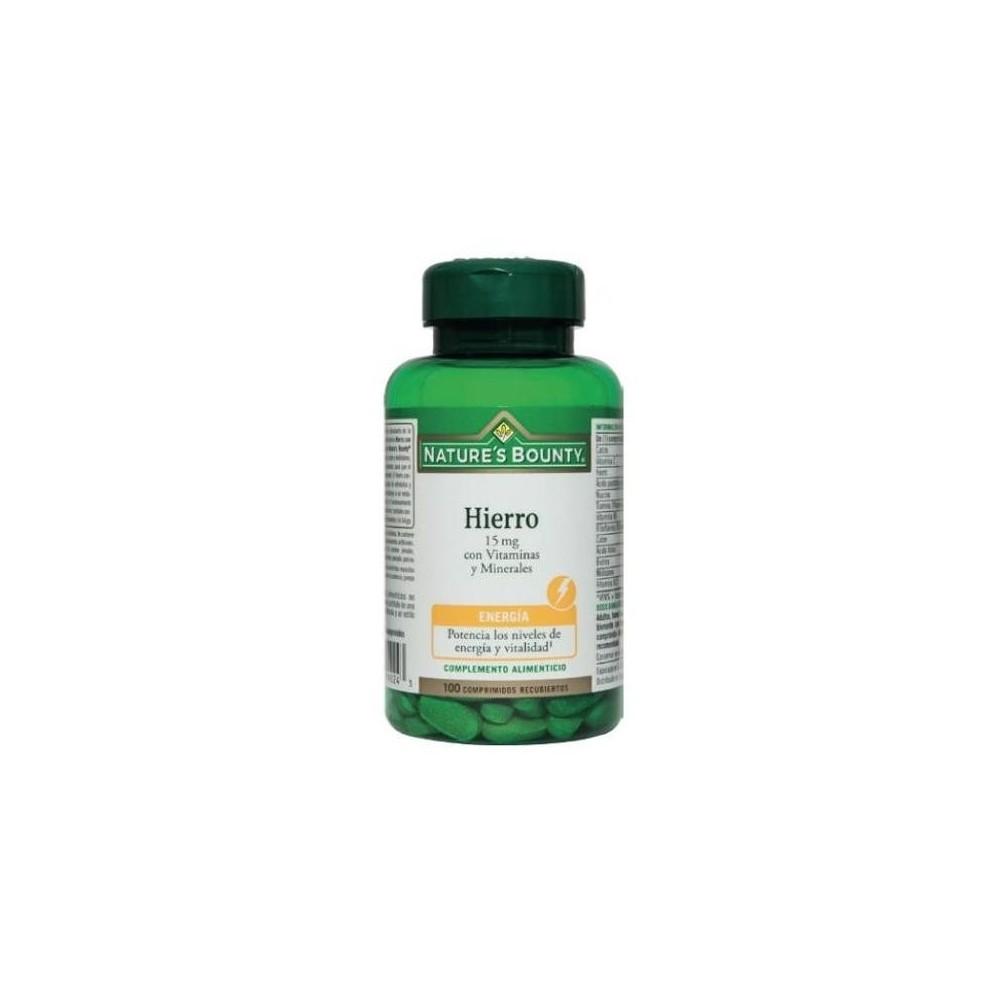 B-Hiero 15mg  con Vitaminas y Minerales