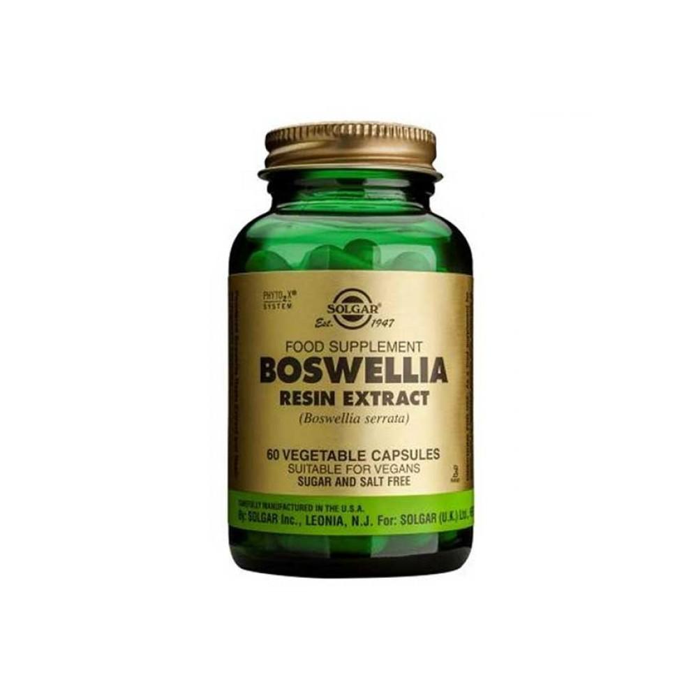 Boswellia Serrata de Solgar SOLGAR 184114 Suplementos Naturales acción Analgesica, Antiinflamatoria, malestar, dolor salud.bio