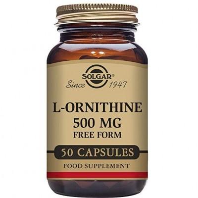 L-Ornitina de Solgar SOLGAR 012060 Higado y sistema hepatobiliar salud.bio