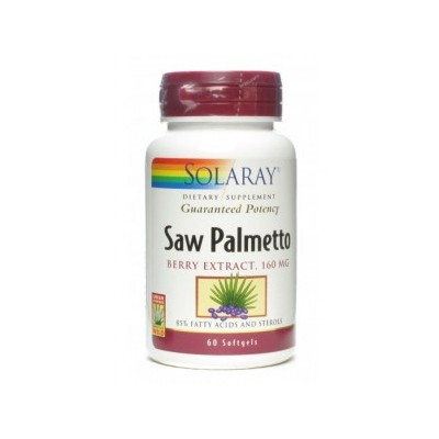 Solaray Saw Palmetto (Berry Extract 160mg) SOLARAY  Sistema inmunitario salud.bio