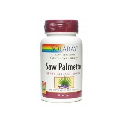 Solaray Saw Palmetto (Berry Extract 160mg) SOLARAY  Sénior y Tercera Edad salud.bio