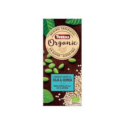 """Chocolate negro con quinoa y soja """"orgánico"""" - Torras"""