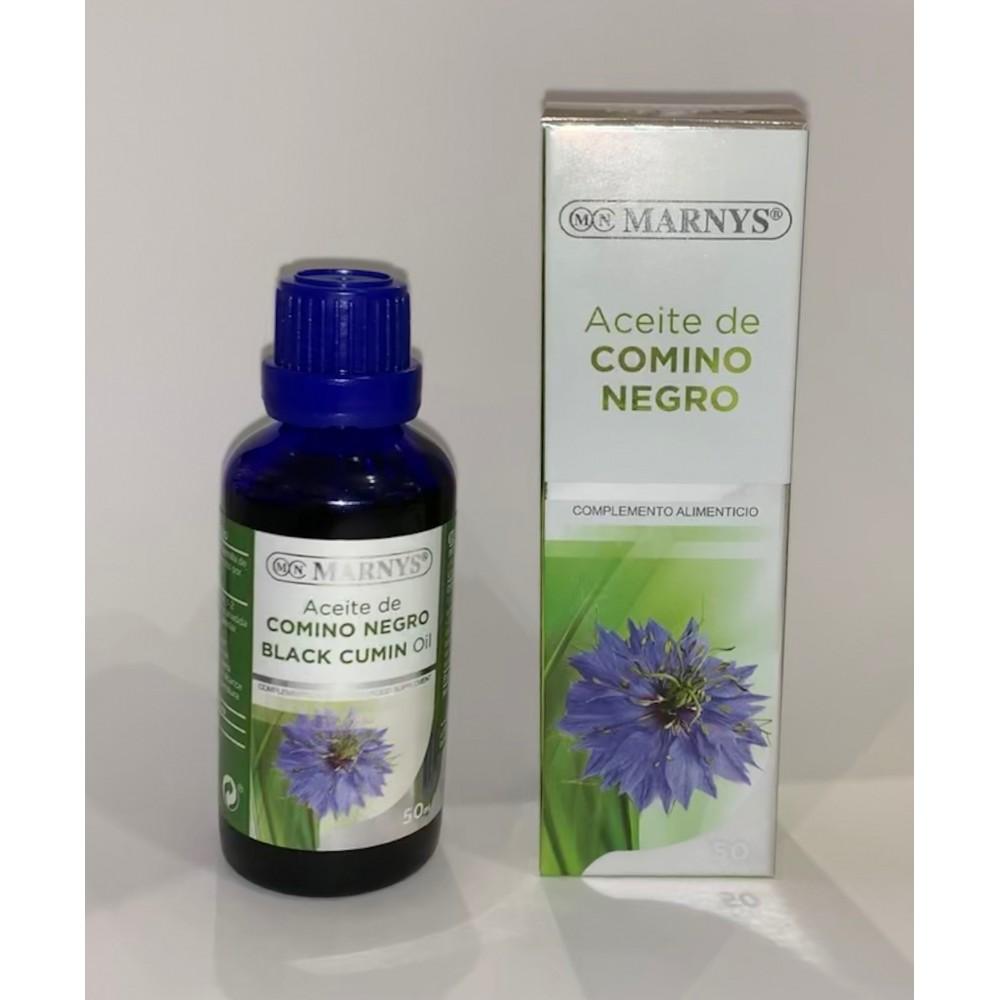 Aceite Puro de Comino Negro 50ml de Marnys Marnys AP204 Ayudas aparato Digestivo salud.bio