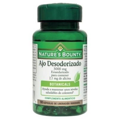 Ajo Desodorizado 3000mg Nature's Bounty Nature's Bounty 03646 Sistema cardiovascular salud.bio