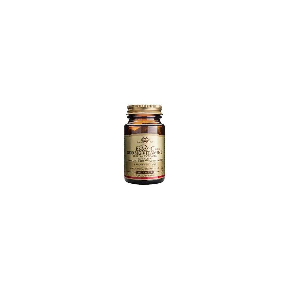 Ester-C Plus 100mg 30 Comprimidos Solgar