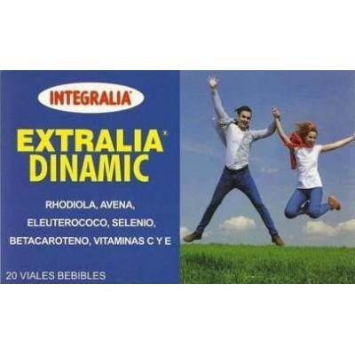 Extralia Dinamic 20 viales Integralia INTEGRALIA 418 Complementos Alimenticios (Suplementos nutricionales) salud.bio