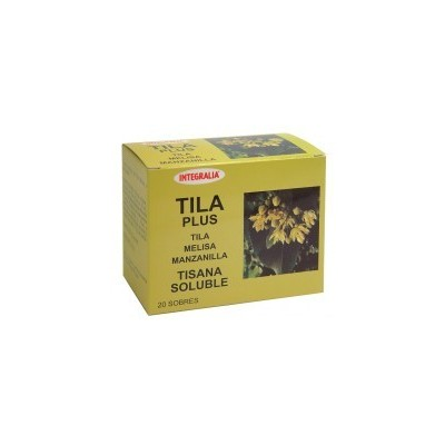 Integralia Tila Plus soluble 20 sobres INTEGRALIA 280 Infusiones salud.bio