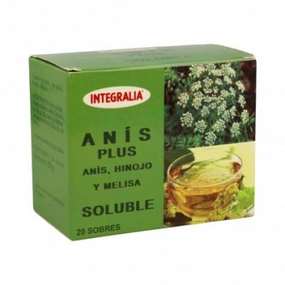 Integralia Anís Plus soluble 20 sobres INTEGRALIA 293 Infusiones salud.bio