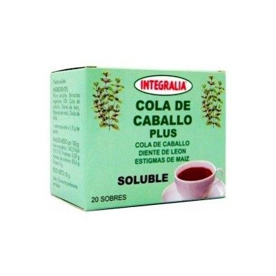 Integralia cola de caballo plus soluble 20 sobres INTEGRALIA 279 Infusiones salud.bio