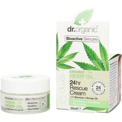 Crema Rescate 24H (Organic Hemp Rescue Cream) Dr. Organic Doctor Organic DR00480 Cosmética Natural salud.bio