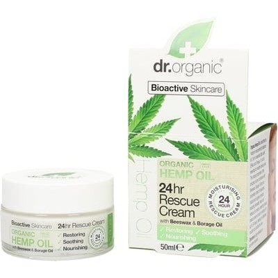 Organic Hemp 24hr Rescue Cream