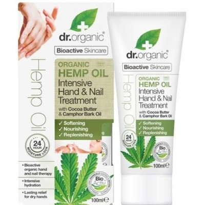 Oil Intensive Hand & Nail Treatment (Organic Help) de Dr Organic Doctor Organic 00481 Cosmética Natural salud.bio