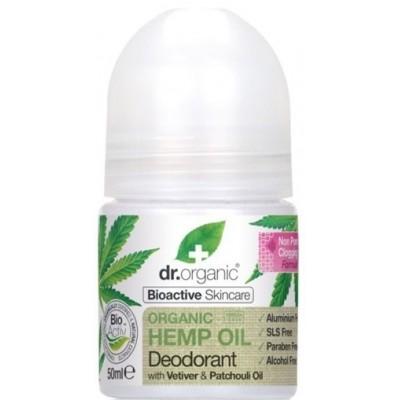 Dr. Organic Organic Hemp Desodorante de aceite de cañamo