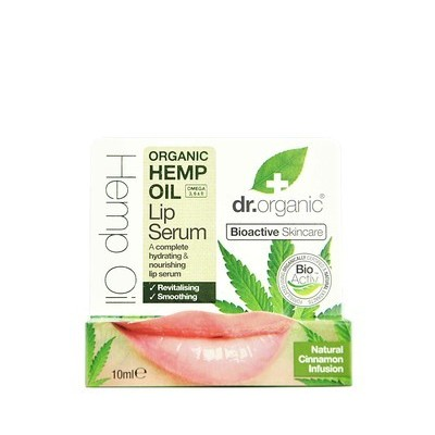 Serum Labial (Oil Hemp) de Dr Organic
