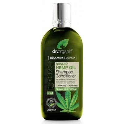 Champu y Acondicionador Aceite de Cañamo Dr Organic
