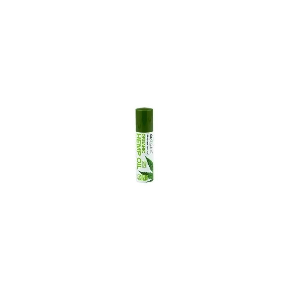 Balsamo labial de Aceite de Cañamo Dr Organic Doctor Organic 00497 Cosmética Natural salud.bio