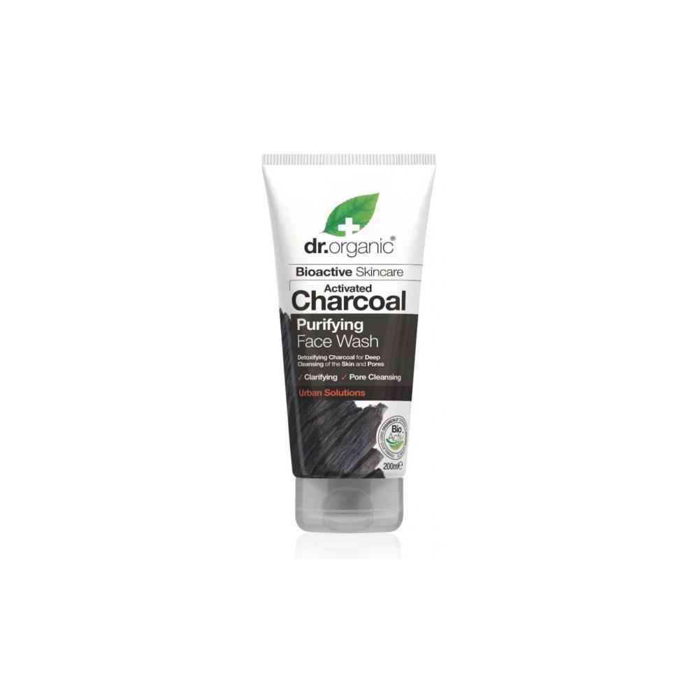 Limpiador Facial de Carbon Activo de Dr Organic Doctor Organic DR00545 Cosmética Natural salud.bio
