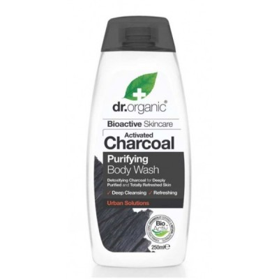 Gel de Ducha de Carbon Activo Dr Organic Doctor Organic DR00548 Cosmética Natural salud.bio