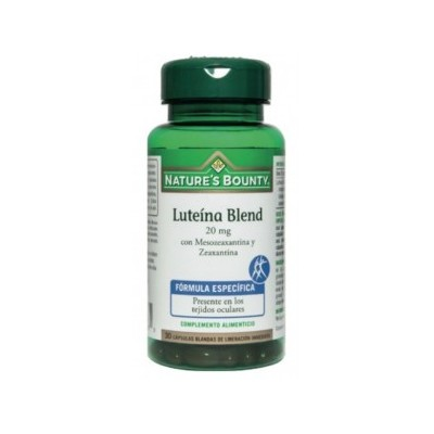 Luteina Blend 20mg con Mesozexantina y Zeaxantina Nature´s Bounty NATURE´S BOUNTY 03654 Inicio salud.bio