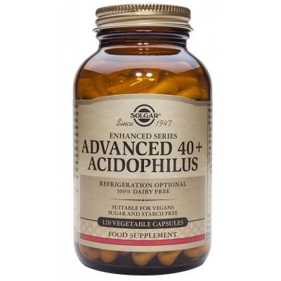 Advanced 40+ Acidophilus de solgar SOLGAR 27 Ayudas aparato Digestivo salud.bio