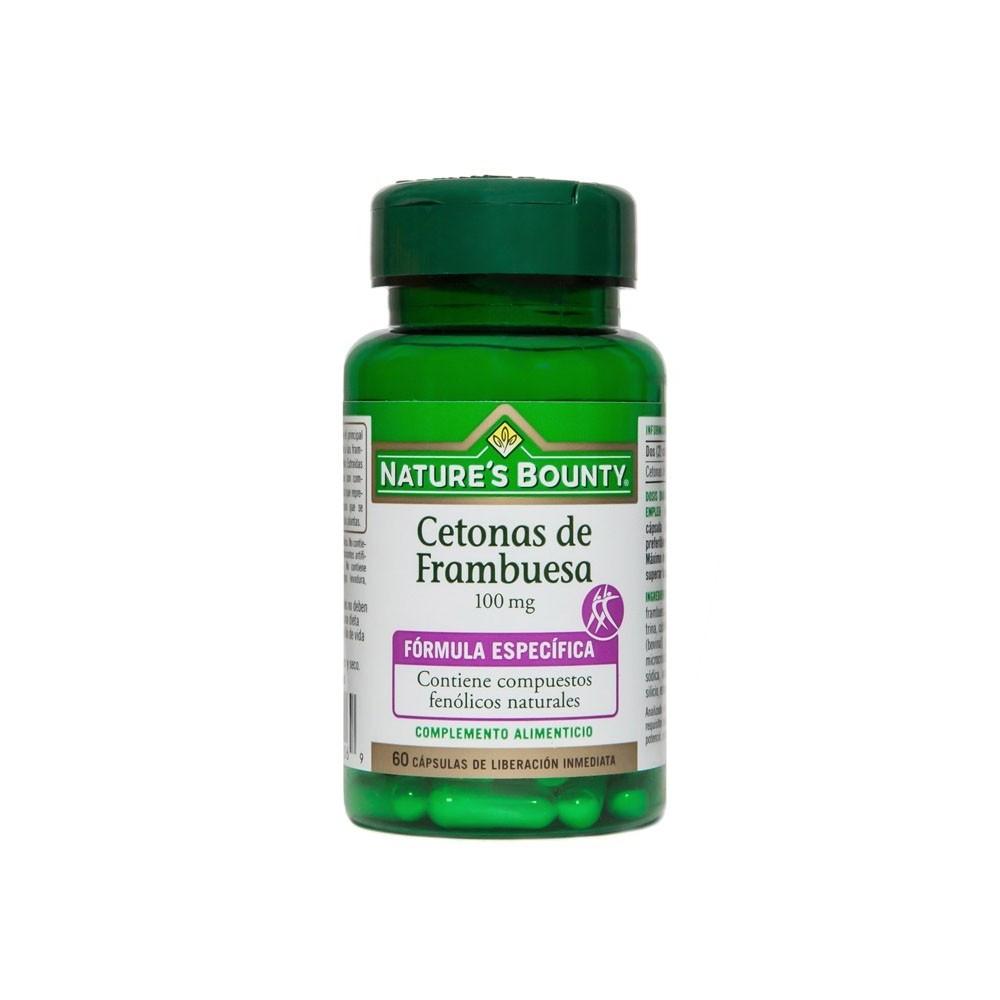 Cetonas de Frambuesa y Extractos de Granos de Café Verde Nature's Bounty Nature's Bounty 03606 Control de Peso salud.bio
