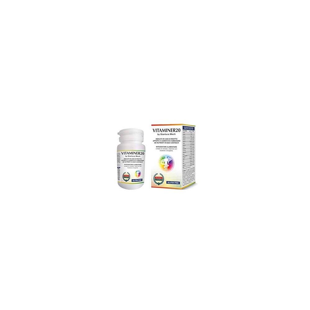Vitaminer20 by Gianluca Mech GIANLUCA MECH HFI30C1701 Vitaminas y Multinutrientes salud.bio
