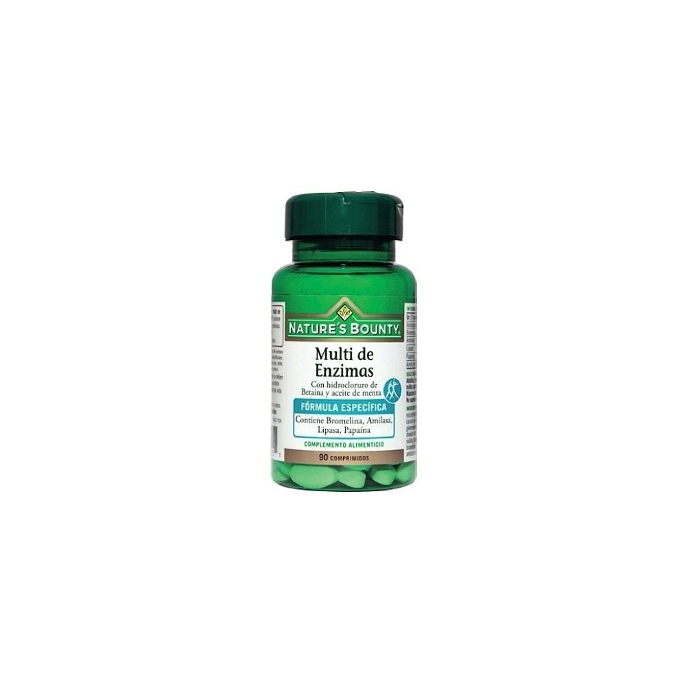 Multi Enzimas + Betaina + Aceite de Menta  Nature´s Bounty