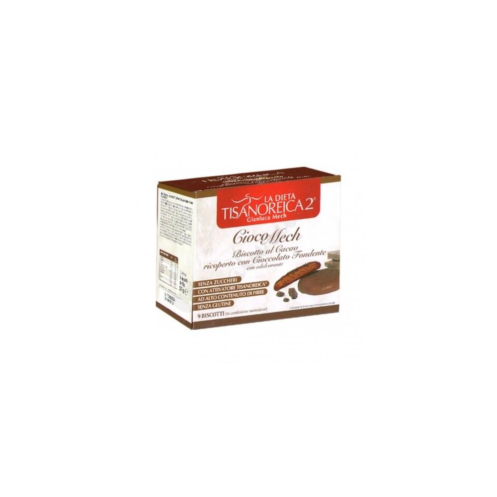 Galletas proteicas de Cacao 9x13gr. de Gianluca Mech GIANLUCA MECH HFPBSC130001 Galletas salud.bio