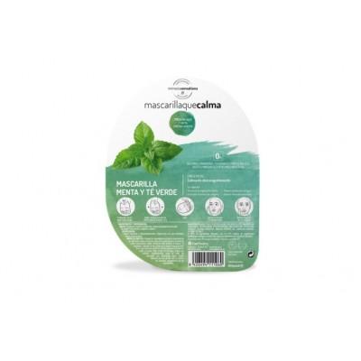 Mascarilla que calma Menta y té verde de Herbora Herbora h11106 Cosmética Natural salud.bio