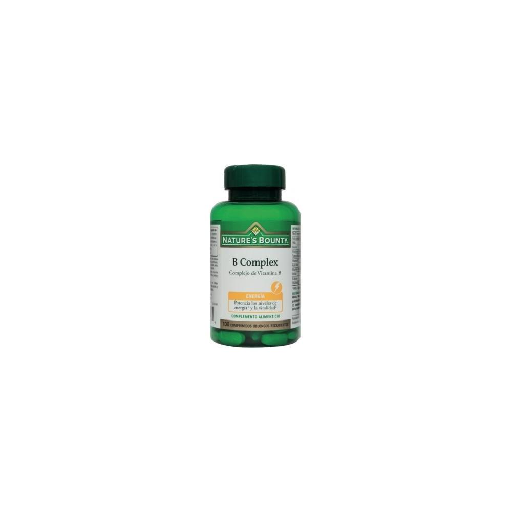 B Complex Complejo Vitamina B de Nature's Bounty Nature's Bounty 03638 Vitamina B salud.bio