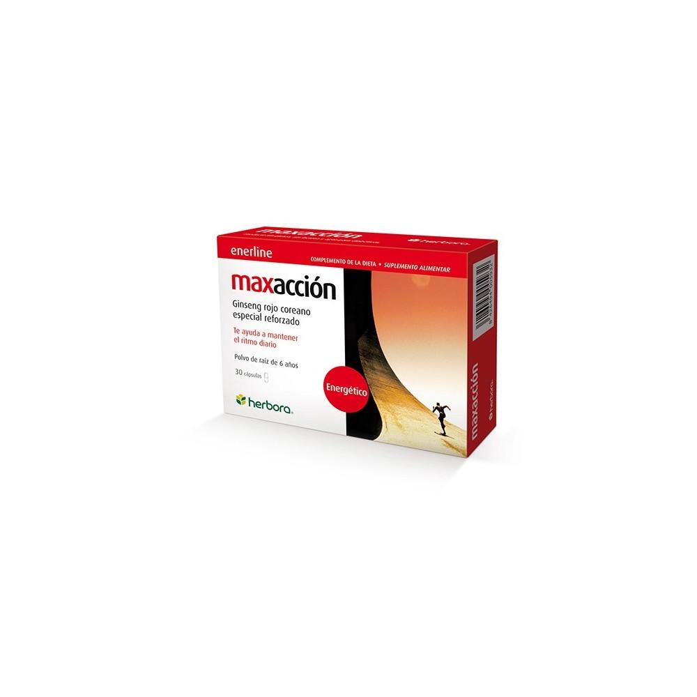 Maxacción de Herbora Herbora 500593 Cansancio, fatiga, astenia primaveral salud.bio