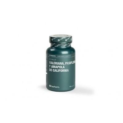Valeriana, pasiflora y amapola de california de Herbora Herbora 506110 insomnio y descanso salud.bio