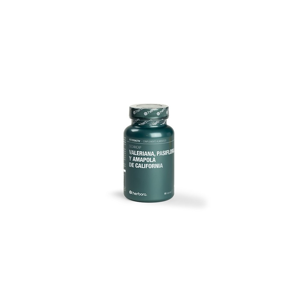 Valeriana, pasiflora y amapola de california de Herbora Herbora 506110 Estados emocionales, ansiedad, estrés, depresión, rela...