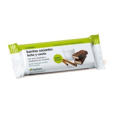 Barritas Saciantes leche y canela Herbora 500202 Barritas Snack salud.bio